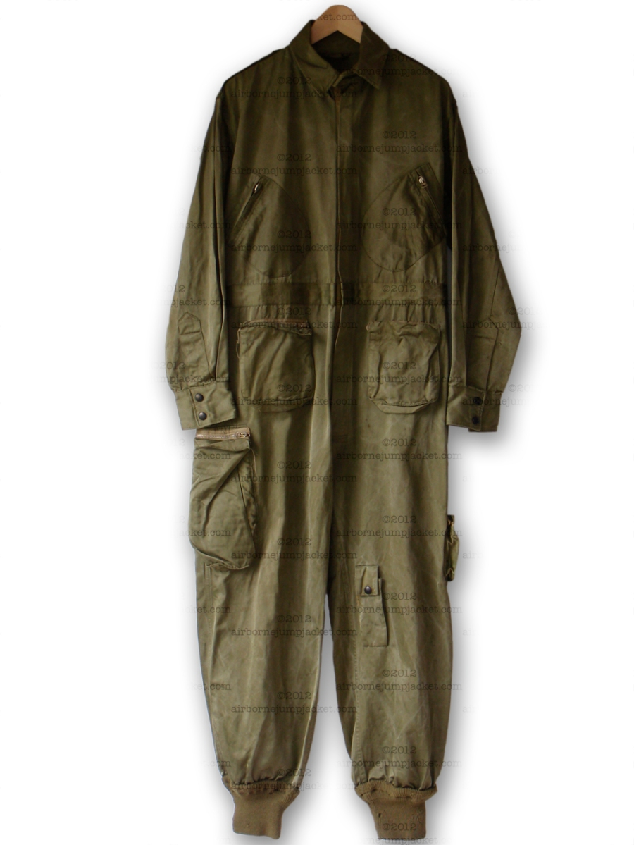 Paratrooper Balloon Suit Uniform, Rare Early WW2 Airborne ...