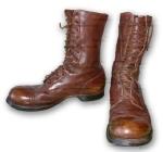 Classic WW2 jump boots.
