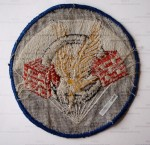WWII US 506th PIR 101st Airborne Division Pocket Patch Back
