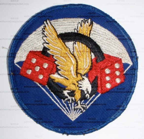 WWII US 506th PIR 101st Airborne Division Pocket Patch Front