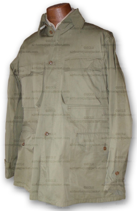 WWII US Mountain Troop Jacket front