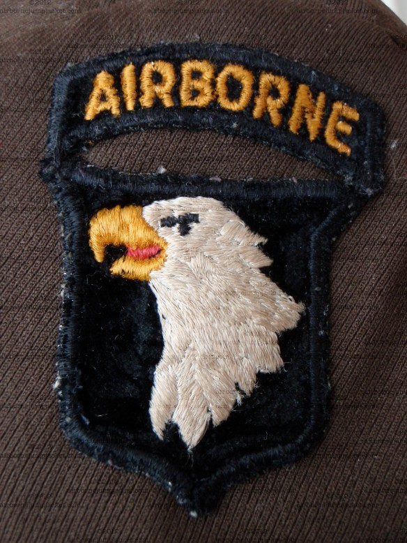 WWII US 101st Airborne Division Patch Type 8