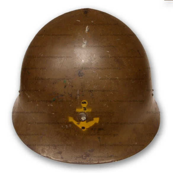 Japanese Navy Helmet Front View