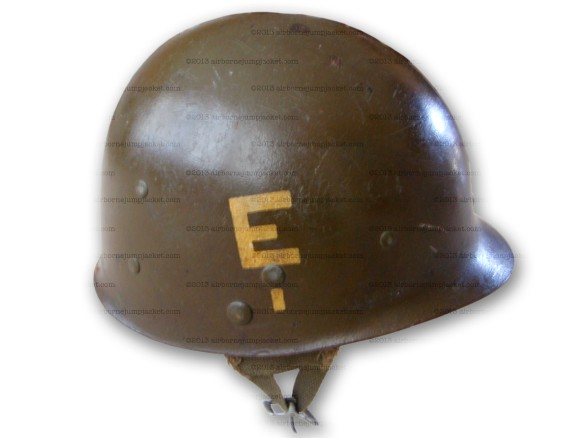 101st 326th Engineer Helmet Liner right side
