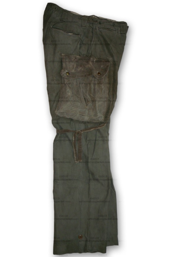 M43 Rigger Made Pants Right Side Overview