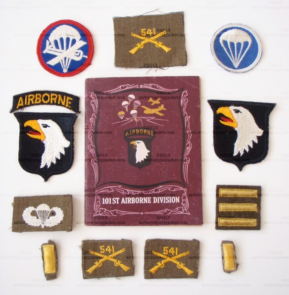 506th PIR Patch Grouping Front View