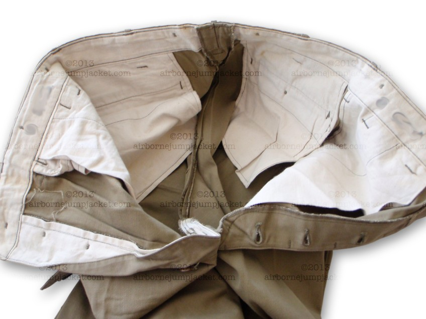 M42 Paratrooper Jump Pants Interior View