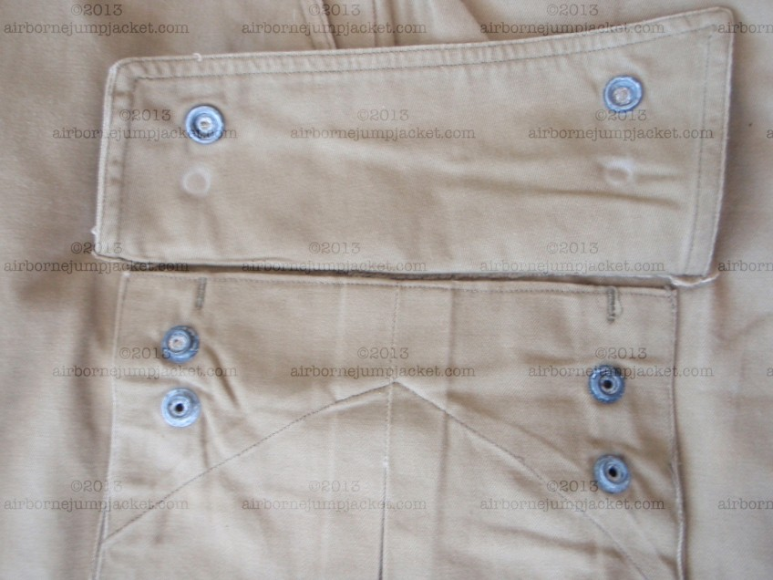 M42 Paratrooper Jump Pants Pocket Snaps