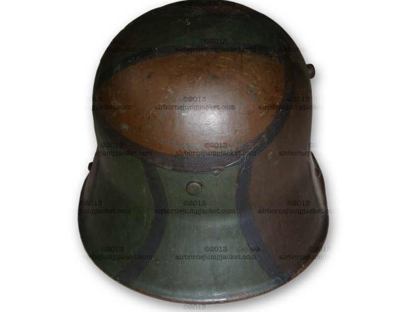 World War One German Camo Helmet