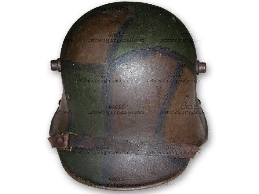 WWI German Camo Helmet