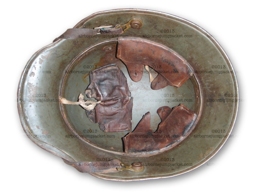 WWI German Helmet Liner and Chinstrap