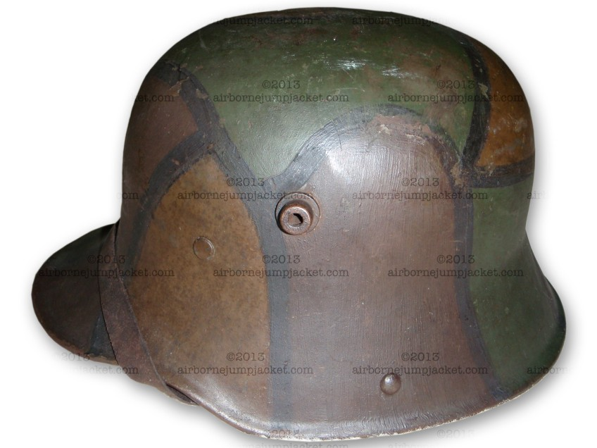 World War One German Camouflage Helmet