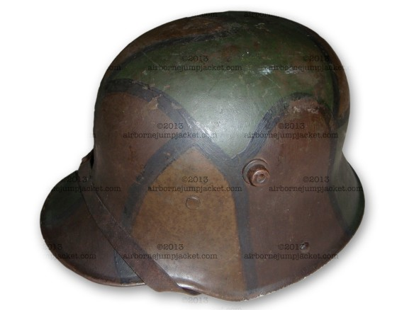 WWI Painted Helmet Overview