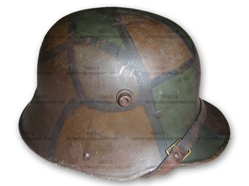 WWI German Camouflage Helmet