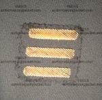 506 PIR Dress Uniform Bullion Overseas Bars