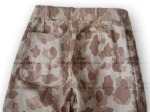 P42 USMC Camouflage Pants Reverse Back Detail