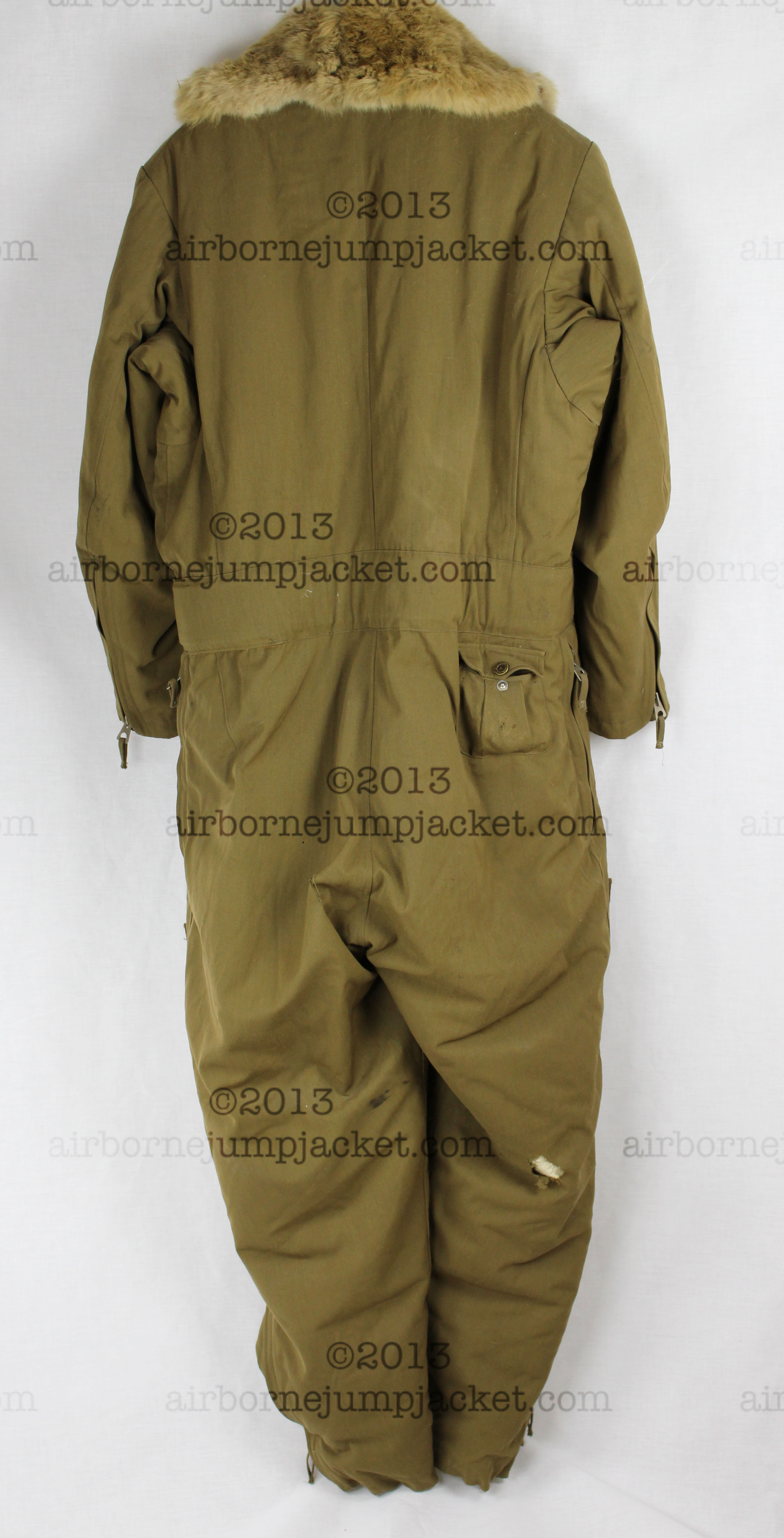 a53917f4b37 World War Two Japanese Army Pilot Flight Suit With Flight Gloves and ...